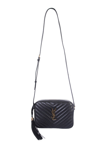 Saint Laurent Lou Quilted Crossbody Bag