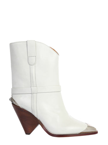 Isabel Marant Lamsy Toe Cap Ankle Boots