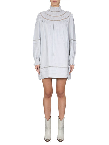 Isabel Marant Étoile Adenia Long Sleeved Mini Dress
