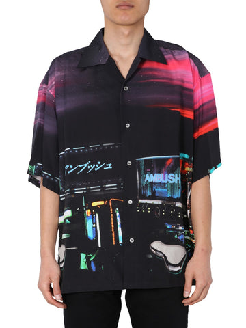 Ambush Graphic Print Bowling Shirt