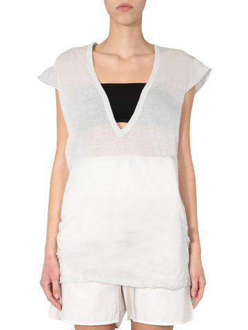 Rick Owens Deep V Neck Top