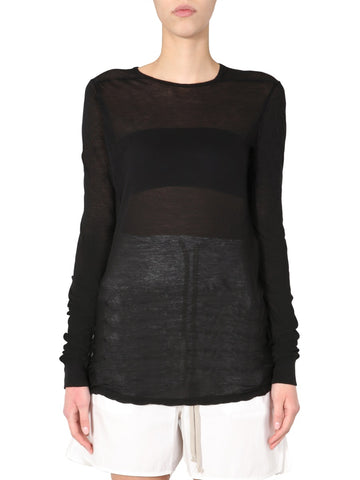 Rick Owens Crewneck Long Sleeve T-Shirt