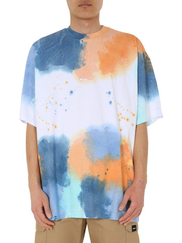 MSGM Watercolour Effect T-Shirt