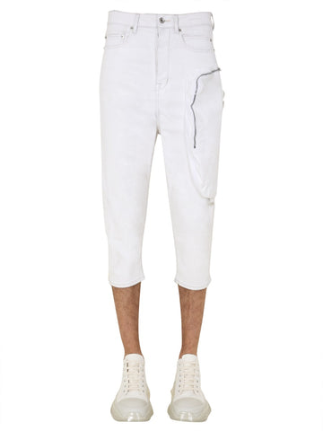 Rick Owens Drkshdw Cropped Jeans
