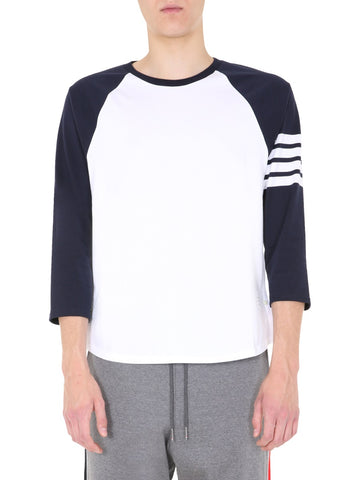 Thom Browne 4-Bar Baseball Top