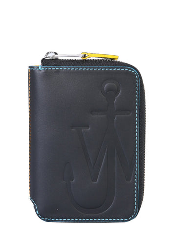 JW Anderson Anchor Zip Around Wallet