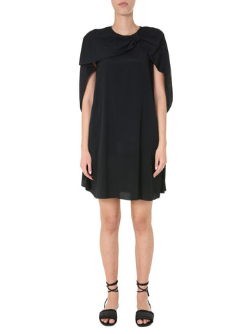 Red Valentino Cape Mini Dress