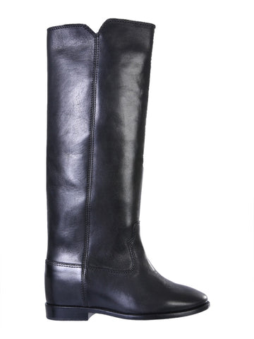 Isabel Marant Chess Mid-Calf Boots