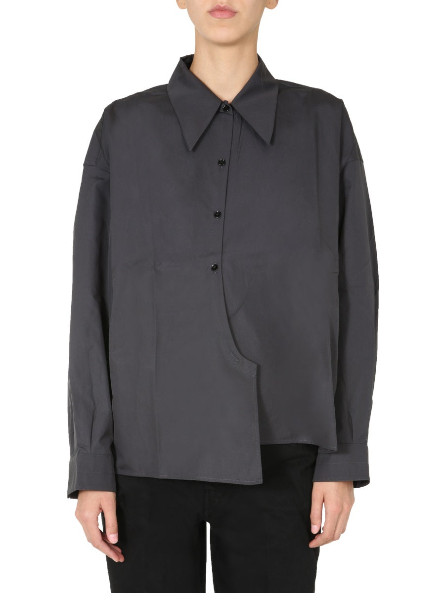 Lemaire Cottons LEMAIRE OVERSIZED WRAP AROUND SHIRT