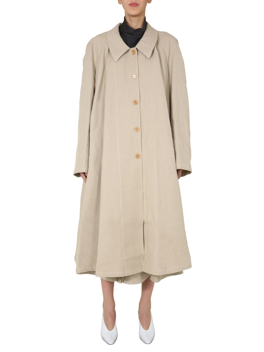 Lemaire Cottons LEMAIRE BELTED TRENCH COAT