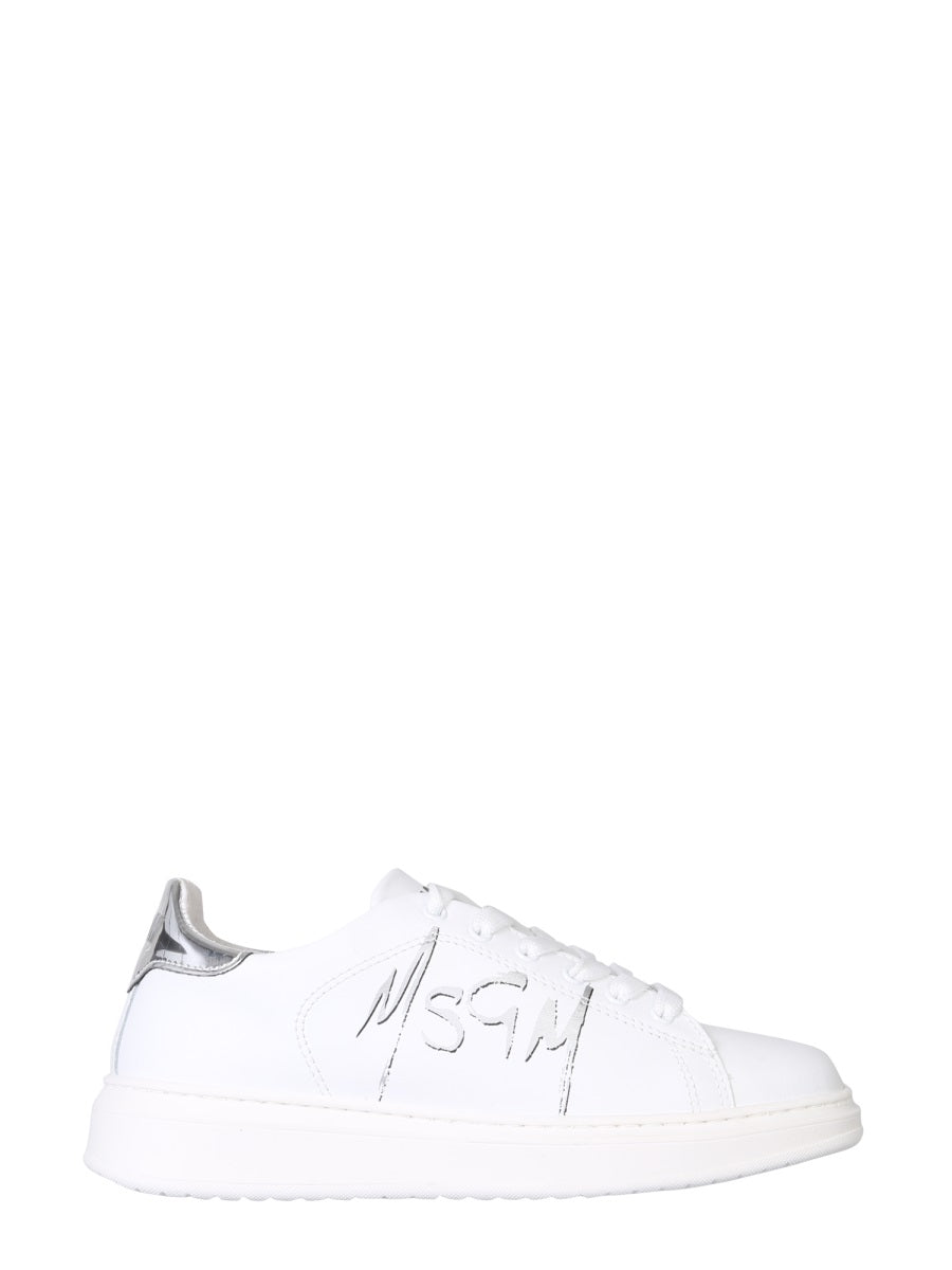 Msgm MSGM SPRAY LOGO LOW