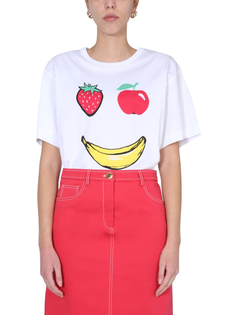 BOUTIQUE MOSCHINO BOUTIQUE MOSCHINO FRUIT PRINTED T