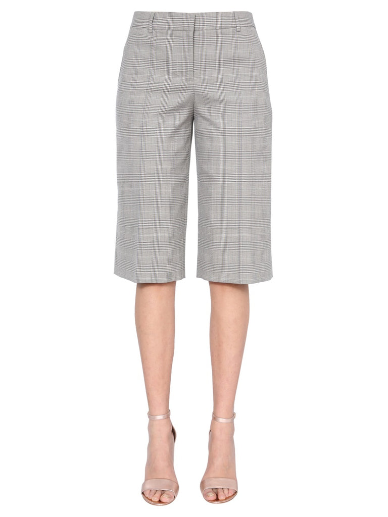 Boutique Moschino Cottons BOUTIQUE MOSCHINO PRINCE OF WALES KNEE