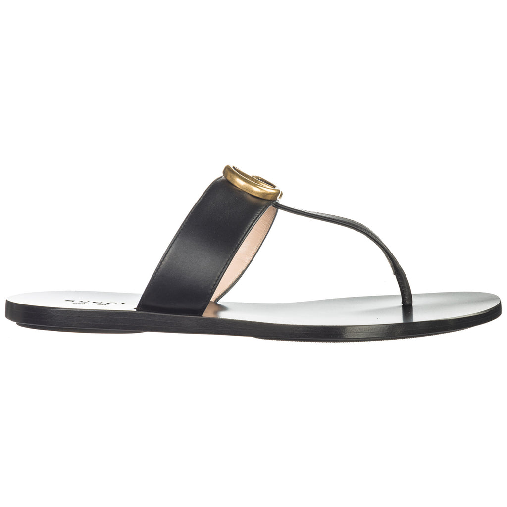 Gucci Double G Thong Sandals