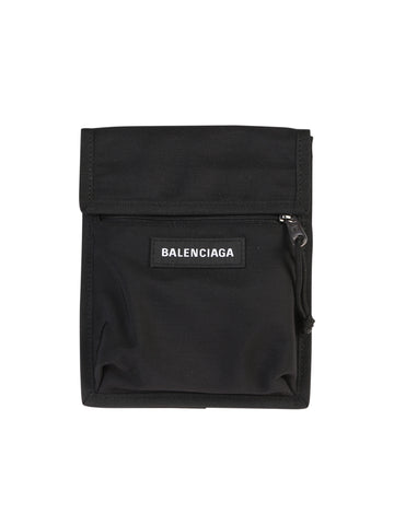 Balenciaga Explorer Logo Crossbody Bag