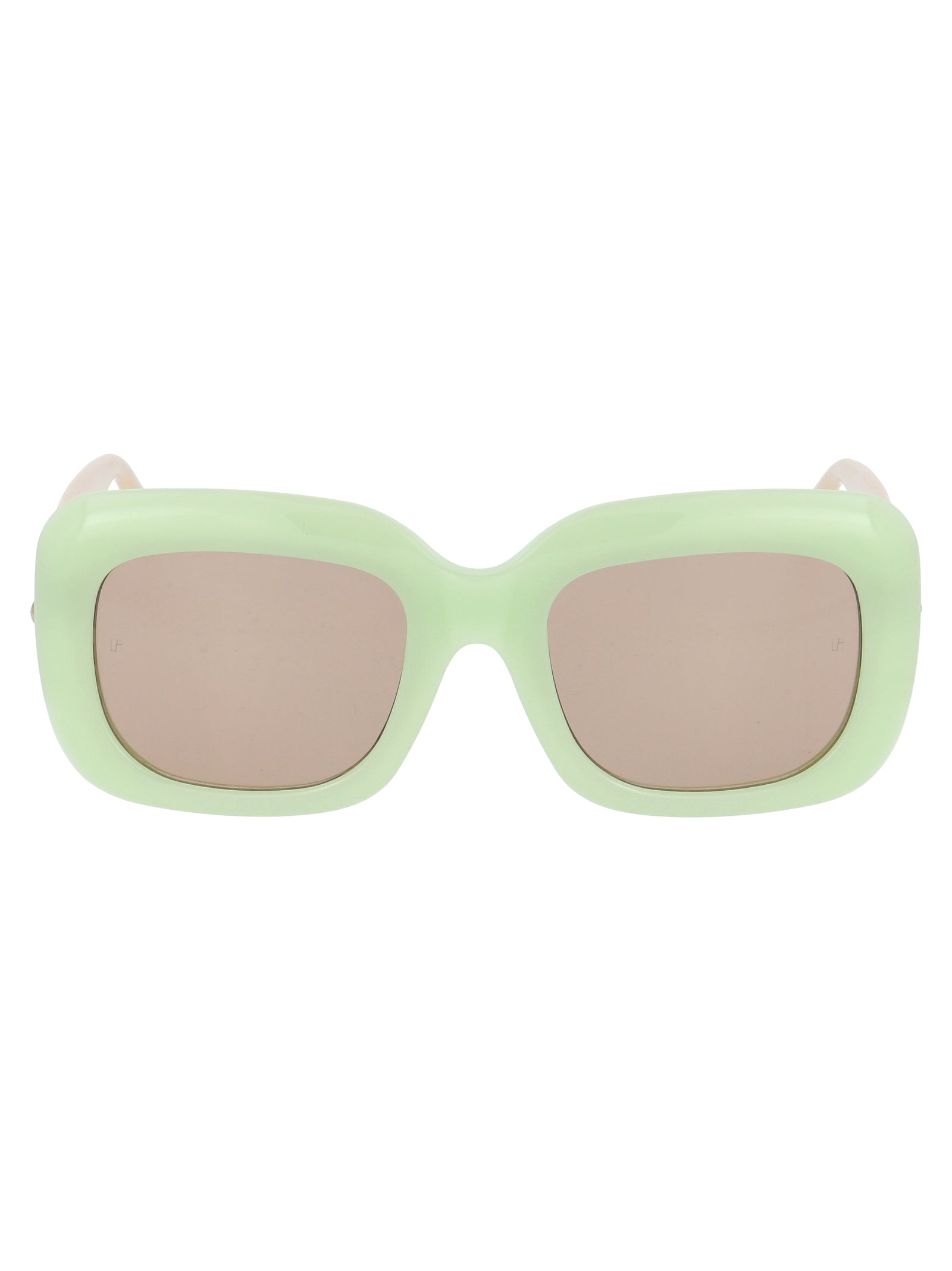 Linda Farrow Sunglasses LINDA FARROW LAVINIA C5 RECTANGULAR SUNGLASSES
