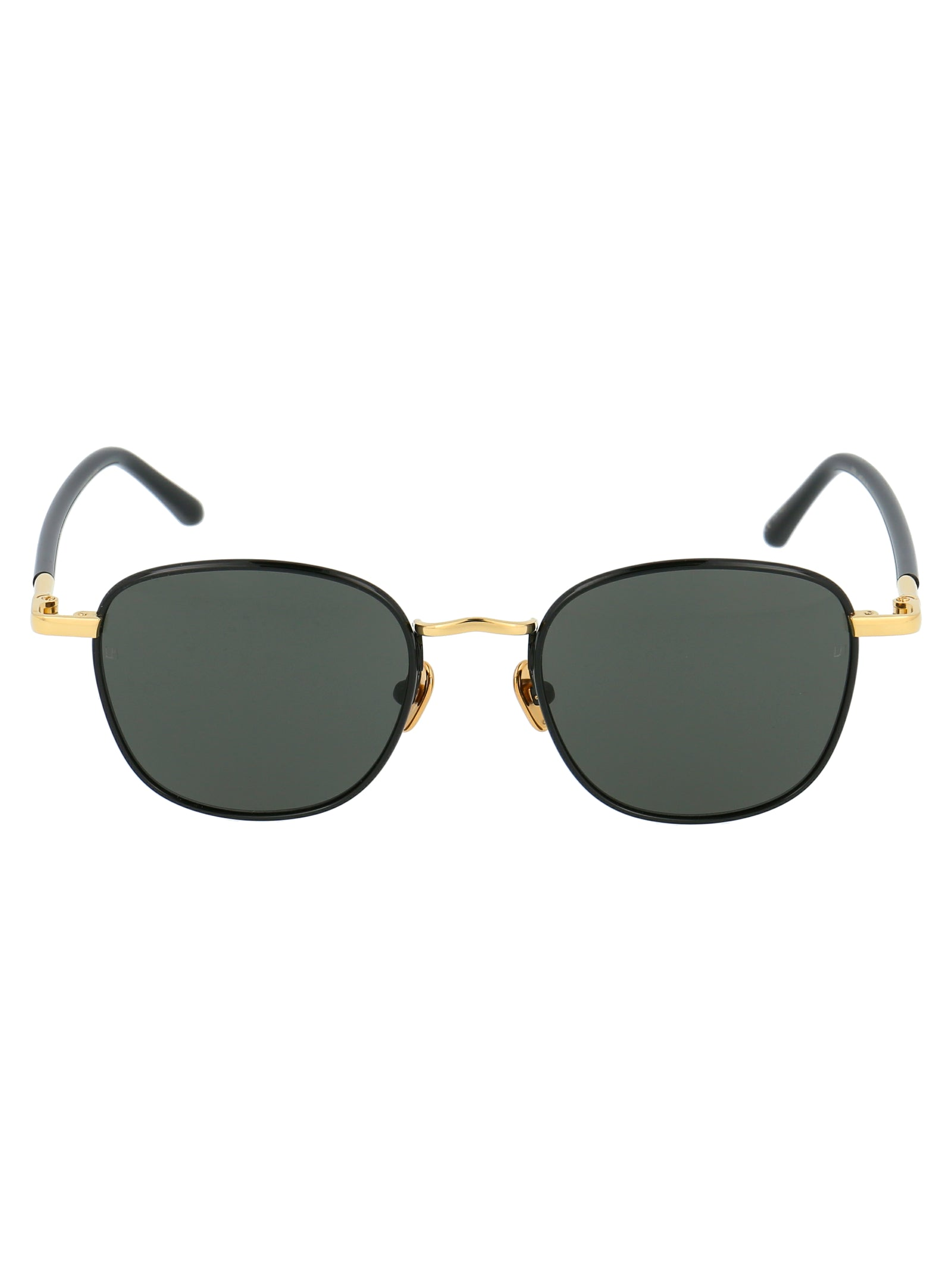 Linda Farrow Sunglasses LINDA FARROW ROUND FRAME SUNGLASSES