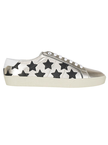 Saint Laurent Star Print Sneakers
