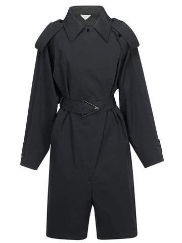 Bottega Veneta Belted Trench Jumpsuit