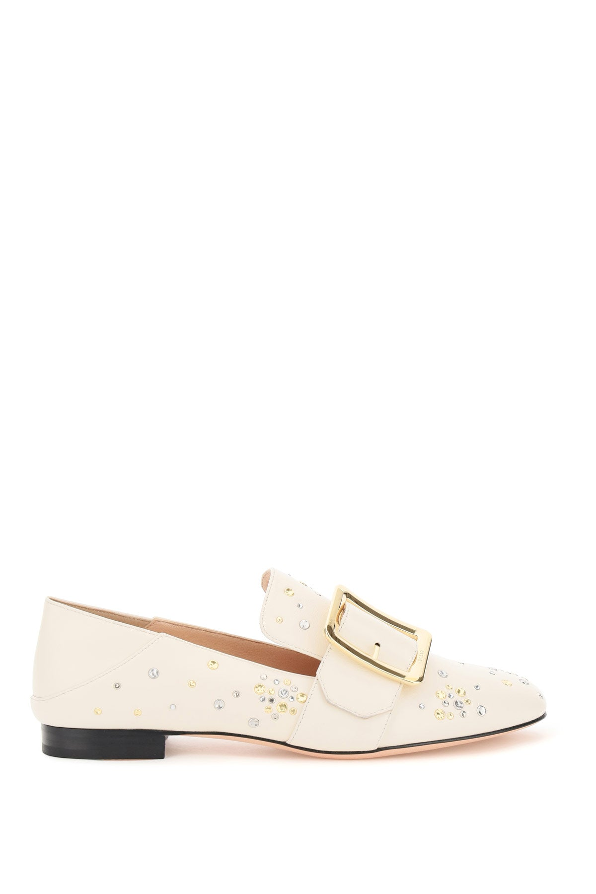 Bally BALLY JANELLE EMBELLISHED LOAFERS
