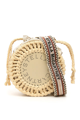 Stella McCartney Logo Braided Shoulder Bag