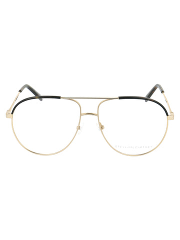 Stella McCartney Eyewear Round Frame Glasses