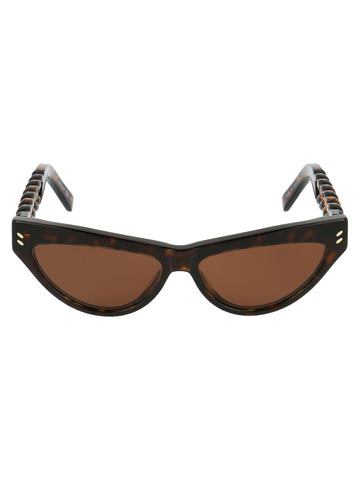 Stella McCartney Eyewear Cat Eye Frame Sunglasses