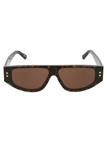 Stella McCartney Eyewear Star Logo Embellished Sunglasses