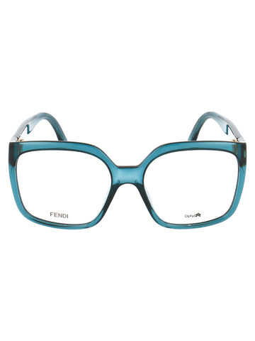 Fendi Eyewear Square Frame Glasses