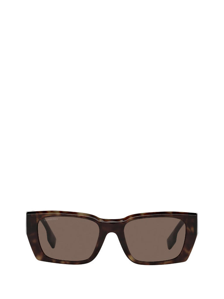 Burberry Eyewear Rectangular Frame Sunglasses In Multi