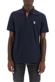 Burberry Icon Stripe Placket Polo Shirt
