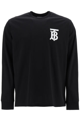 Burberry Monogram Motif Long-Sleeve T-Shirt