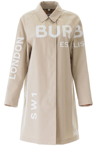Burberry Horseferry Print Car Coat