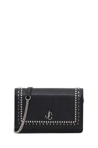 Jimmy Choo Studded Palace Shoulder Bag
