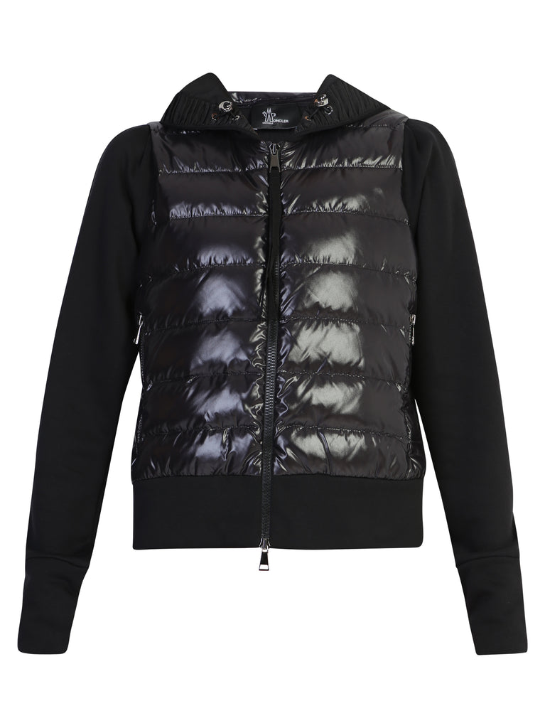 Moncler Grenoble Jackets MONCLER GRENOBLE QUILTED ZIPPED JACKET