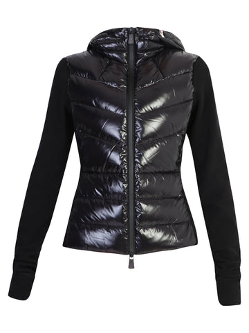 Moncler Quilted Panelled Hooded Jacket
