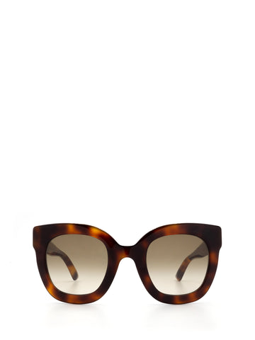 Gucci Eyewear Oversized Frame Sunglasses