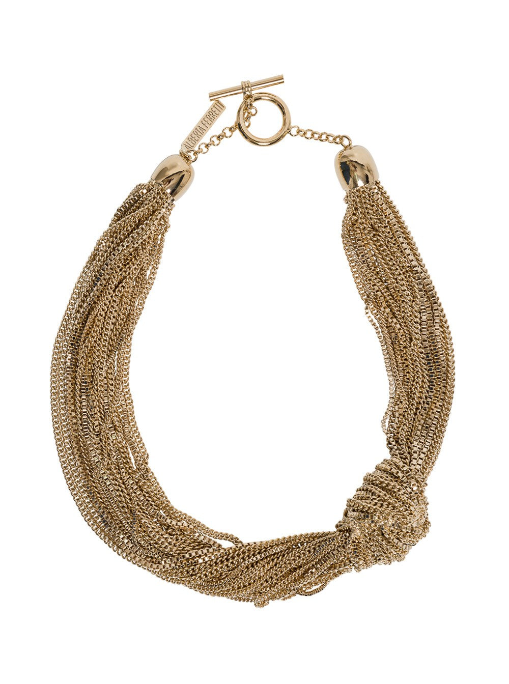 Alberta Ferretti ALBERTA FERRETTI LAYERED CHAIN NECKLACE