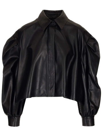 Valentino Oversized Cropped Jacket