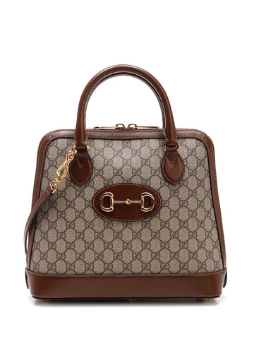 Gucci Horsebit Top Handle Tote Bag