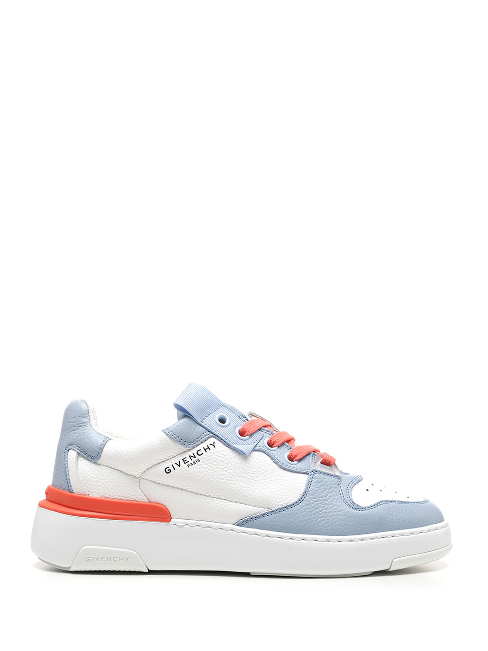 Givenchy Leathers GIVENCHY WING LOW THREE TONE SNEAKERS