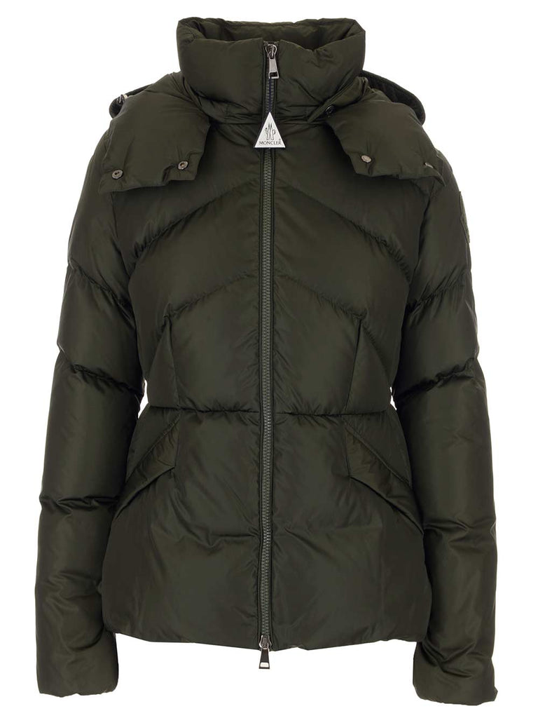 Moncler MONCLER ALOES HOODED DOWN JACKET