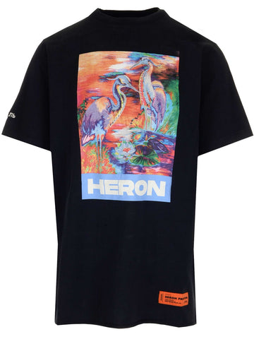 Heron Preston Graphic Printed T-Shirt