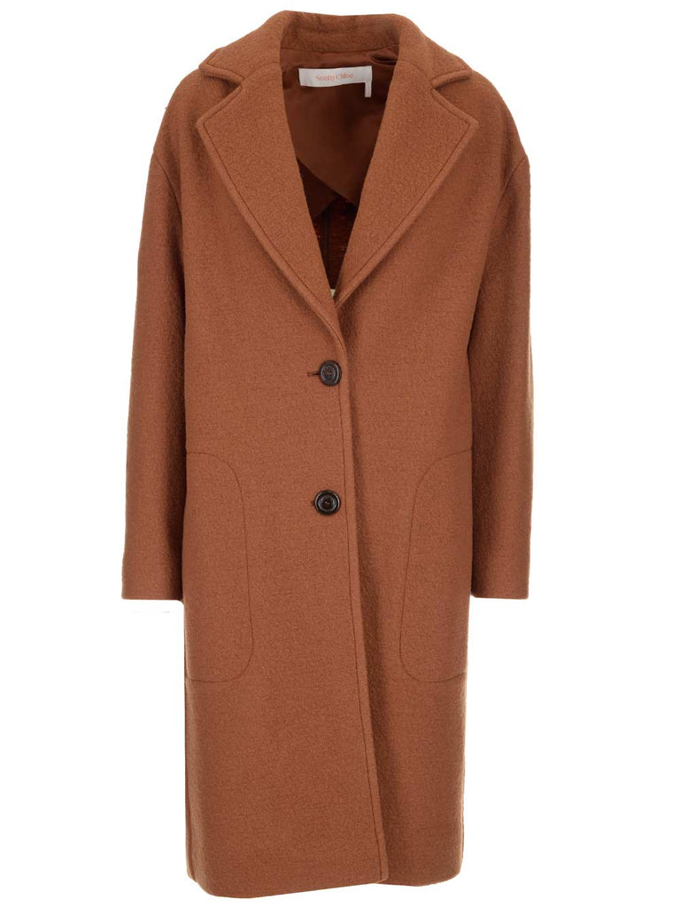 See By Chloé SEE BY CHLOÉ OVERSIZED COAT