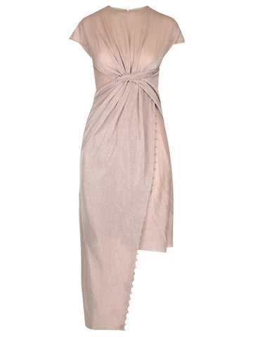 Lanvin Long Draped Dress