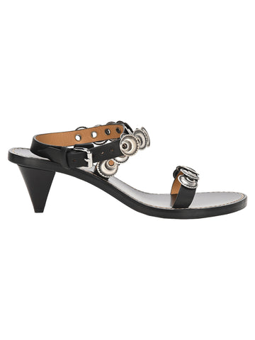 Isabel Marant Eyelet Embellished Sandals