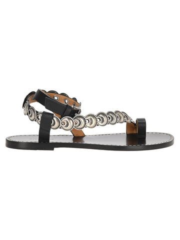 Isabel Marant Eyelet Detail Sandals