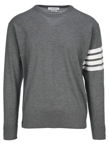 Thom Browne 4-Bar Stripe Sweater