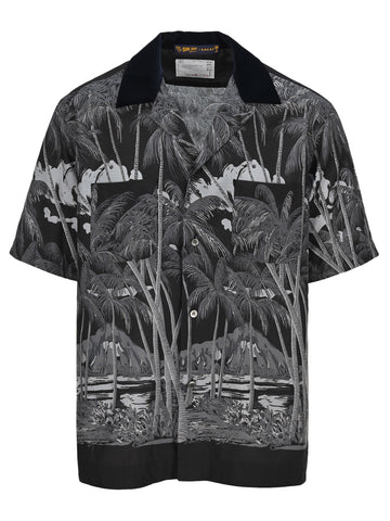 Sacai Hawaiian Print Shirt