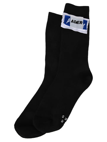 Ader Error Rivet Label Socks